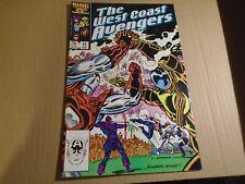 AVENGERS WEST COAST #11 Marvel Comics VF 1986