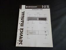 Original Service Manual Kenwood t-7/7l