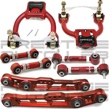 Truhart 10PC FRONT REAR CAMBER, Toe,Lower Control Arms for Civic Integra Del Sol