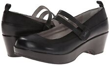 Jambu Scarlet Too Black Shoes Clogs 7 M