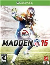XBOX ONE MADDEN 15 NFL FOOTBALL VIDEO GAME BRAND NEW SEALED 🏈