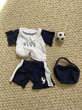 Soccer Outfit Uniform With Soccer Ball fits 18inch American Girl Dolls