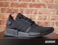 Adidas NMD R1 PK Primeknit Japan Triple Black BZ0220 Size 8-13