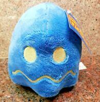 NEW Ms Pac-Man Pellet Blue Ghost Plush Toy Stuffed Doll Figure Pacman Arcade