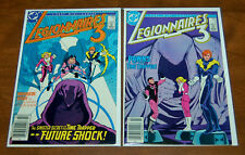 Legionnaires 3 Mini-Series DC Comics 1986 #1 and #2 Both VF-