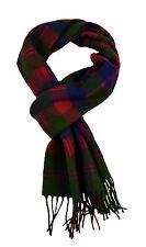 Glasgow tartan lambswool scarf