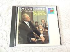 Carlos Kleiber Conducts Strauss CD - Sony - Vienna Philharmonic