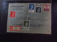 R-cover Deutsches Reich Mi 783 784 786 791 819 Dux 1942