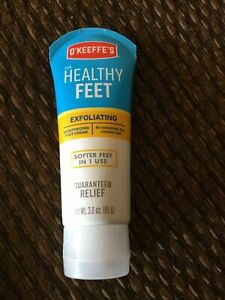 O'Keefe's EXFOLIATING Moisturizing Foot Cream~For Extremely Dry, Cracked Feet