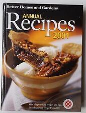 Better Homes and Gardens Annual Recipes 2001 by Better Homes and Gardens Editors