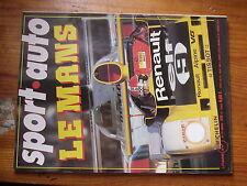 $$u Revue sport auto N°197 GP Belgique  GP Monaco  24h du Mans  F2 Pau  F2 Nurb
