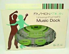 Universal iPod / MP3 Music Dock: Fashionation Green NEW
