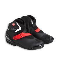 DUCATI TCX THEME halbhoher Stiefel Schuhe Turnschuhe Shoes schwarz rot NEU