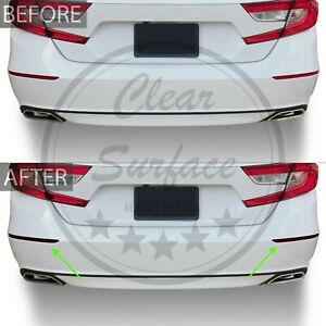 Fits Accord 18-20 Rear Bumper Reflectors Precut Smoke Vinyl Tint Cover Overlay