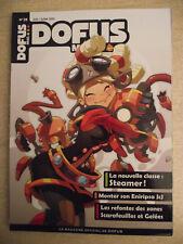 DOFUS MAG.N° 28 Le donjon des scarfeuilles. Les Steamers. Vulkania le retour