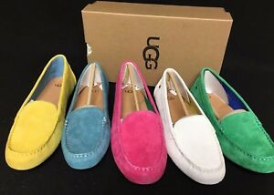 UGG Australia Women's Milana Water Resistant Suede Loafers 1016766 Flats Shoes