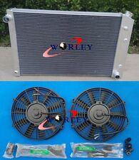 3 ROW for 1973-1987 CHEVY C/K C10/20/30 Truck pickup Aluminum Radiator & fans