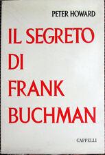 1961 Peter Howard - IL SEGRETO DI FRANK BUCHMAN - Cappelli