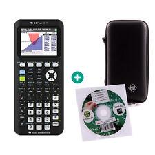 TI 84 Plus CE-T Taschenrechner Grafikrechner + Schutzfolie Lern-CD