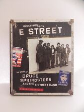 Greeting From The E Street Band Book Story Bruce Springsteen Slip Cover