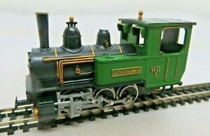 Liliput 706 H0e Steam Locomotive Waldenburger Railway G.Thommen Wb 5 Tested
