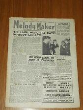 MELODY MAKER 1946 #686 SEPT 14 JAZZ SWING TED HEATH IRVING BERLIN MAURICE BURMAN
