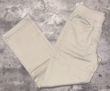 Wonder Nation Girls School Uniform Tan Straight Fit Stretch Pull-On Pants Sz 8