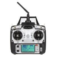 Flysky FS-T6 2.4G 6CH Mode 2 Transmitter +Receiver R6-B for Quadcopter O8W9