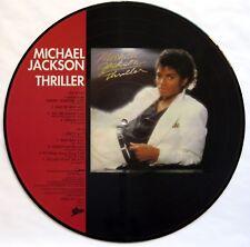 MICHAEL JACKSON THRILLER LTD EDITION PICTURE DISC 1983 LP EPIC 28-3P-455 EX+/NM