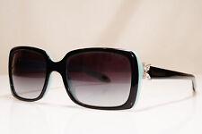 TIFFANY & CO Womens Vintage Sunglasses Black CRYSTAL FLOWER TF 4047 80553C 26675