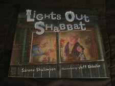 Set of 18 Children's Books including Lights Out Shabbat