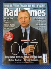 RADIO TIMES 2012 Daniel Craig JAMES BOND cover ANNEKA RICE Victoria Pendleton