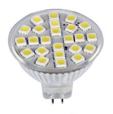 Weiß MR16 G5.3 AC / DC12-24V 24-5050 SMD LED Birnen-Lampe Super helle 300LM