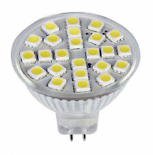 New White MR16 G5.3 AC/DC12-24V 24-5050 SMD LED Bulb Super Bright 300LM 1pcs