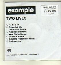 (CW387) Example, Two Lives - 2010 DJ CD