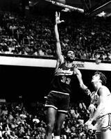Milwaukee Bucks KAREEM ABDUL-JABBAR Glossy 8x10 Photo Basketball Print Poster