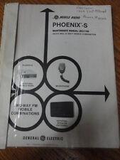 Ge Mobile Radio Phoenix S Maintenance Manual Lbi31188 402
