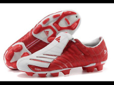 Adidas F50+ TRX FG Spider - Größe 44 2/3 - UK 10 - US 10.5 - rot/weiß **RAR**