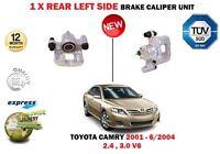 FOR TOYOTA CAMRY 2.4 VVTI 3.0 V6 2001-2004 NEW REAR LEFT SIDE BRAKE CALIPER UNIT