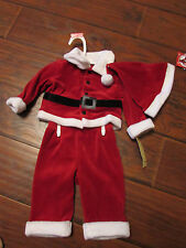 NEW Size 3-6 months Santa Outfit with Hat! Adorable and GREAT FOR DOLLS!