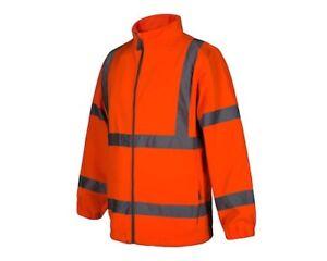 Aqua Premium Hi-Viz Orange Jacket size Large