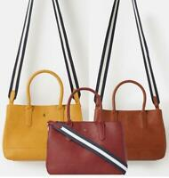 Joules Thernwell Bright Faux Leather Grab Bag - MORE COLOURS