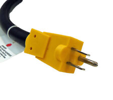 Electrical Adapter NEMA 5-15P to 14-50R allows use of 110 volt on 220 volt plug.