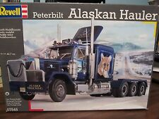 Revell of Germany 7545 Peterbilt Alaskan Hauler.  Tri-drive. 1/25 scale.