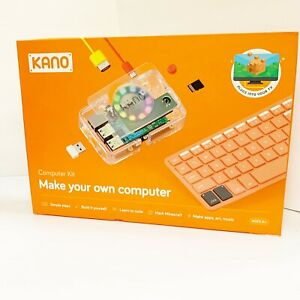 Kano Computer Kit - Make your own computer Learn Code Apps Art Music New Sealed