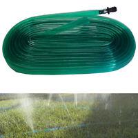 15m Sprinkler Spray Soak Irrigation Garden Gardening Water Watering Hose Pipe