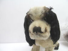 MES-46762Älterer Steiff Hund mit Holzwollstopfung L: ca.21cm ohne Knopf,