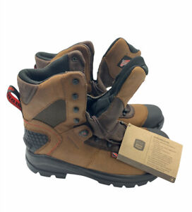 Red Wing CRV 8 Inch Mens Leather EH Safety Toe Work Boot D 438 Brown