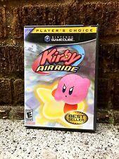Kirby Air Ride (Nintendo GameCube, 2003) ~ 100% Complete! BLACK LABEL!