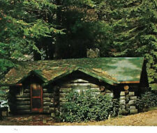 Postcard, Macbeth's Cabin at Cook Forest State Park, Northwest PA